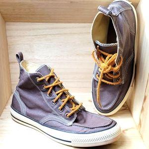 Converse Mens Brown High Top Sneakers